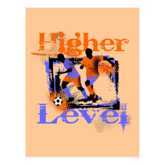 Soccer Higher Level T-shirts and Gifts Postcard