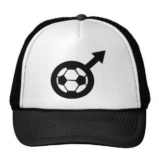 soccer icon for men mesh hats