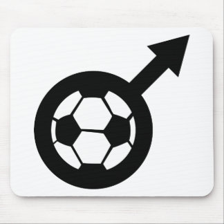 soccer icon for men mousepad