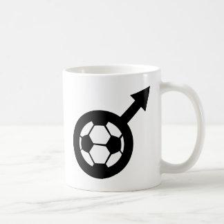 soccer icon for men mug
