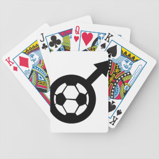 soccer icon for men poker deck