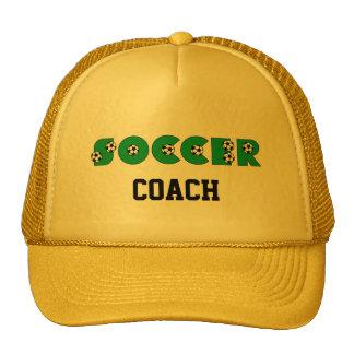 Soccer in Green Trucker Hat
