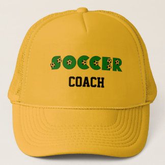 Soccer in Green Trucker Hat
