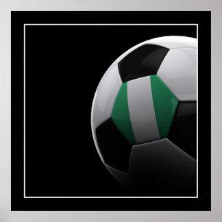 Soccer in Nigeria - POSTER