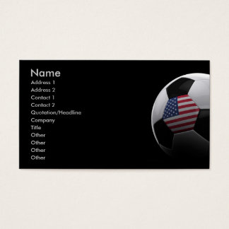 Soccer in the USA Business Card