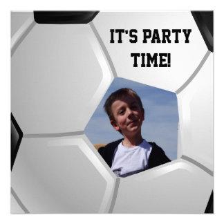 Soccer Personalized Invitation