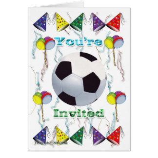 Soccer Invitation  birthday