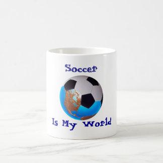 Soccer Is My World Mug