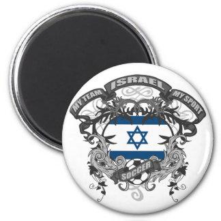 Soccer Israel Fridge Magnet