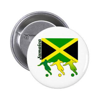 Soccer Jamaica 6 Cm Round Badge