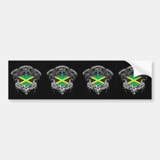 Soccer Jamaica Bumper Sticker