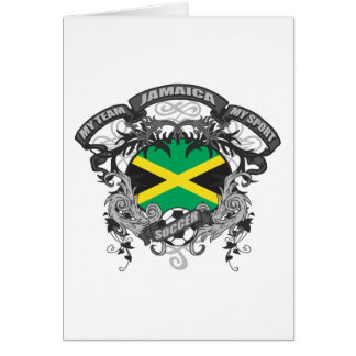 Soccer Jamaica Card