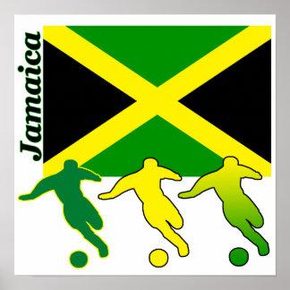 Soccer Jamaica Poster