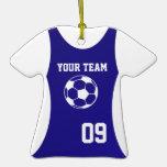 Soccer Jersey Customisable Blue