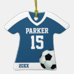 Soccer Jersey Personalised Ornament