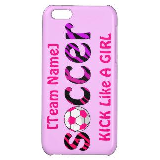 Soccer ~ KICK Like A Girl iPhone 5C Cover