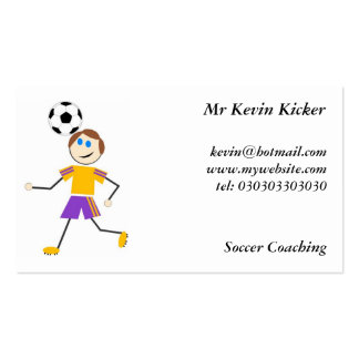 Soccer Kids Business Cards