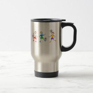 Soccer Kids Coffee Mugs