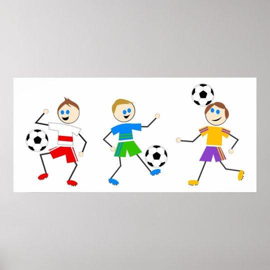 Soccer Kids Poster
