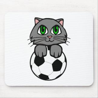 Soccer Kitten Mouse Pad