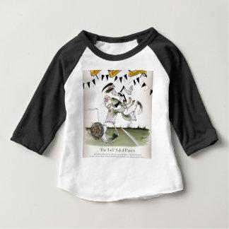 soccer left winger black + white kit baby T-Shirt