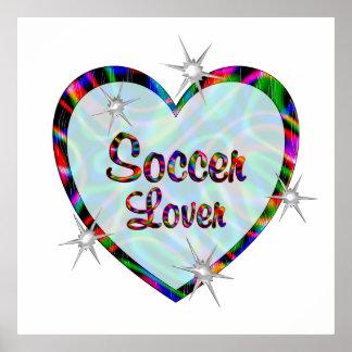 Soccer Lover Poster
