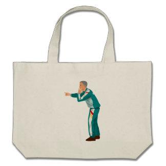 Soccer Manager Canvas Bag