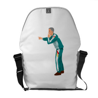 Soccer Manager Messenger Bags