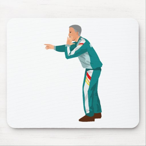 Soccer Manager Mouse Pad