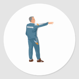 Soccer Manager Sticker