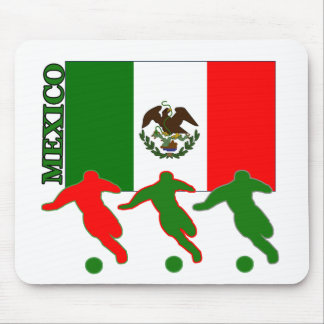 Soccer Mexico Mouse Pads