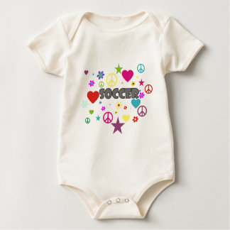 Soccer Mixed Graphics Rompers