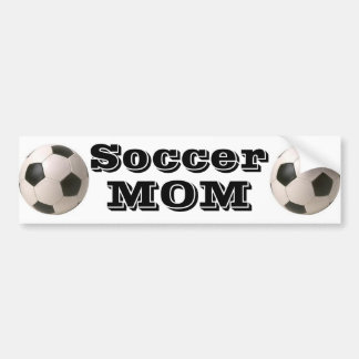 Soccer Mom - Bumper Sticker