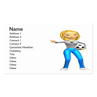 Soccer Mom Business Cards