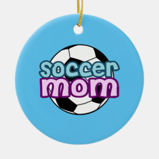 Soccer Mom Christmas Ornament
