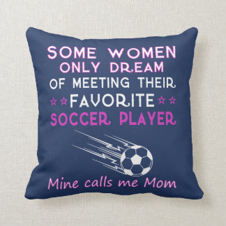 SOCCER MOM CUSHION