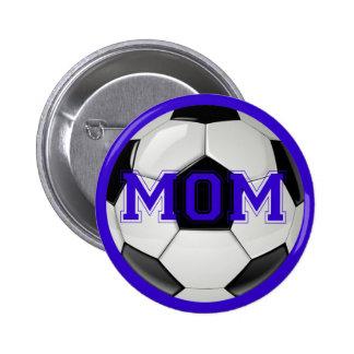 Soccer Mom Custom Colors 6 Cm Round Badge
