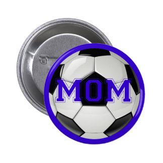 Soccer Mom Custom Colors Buttons