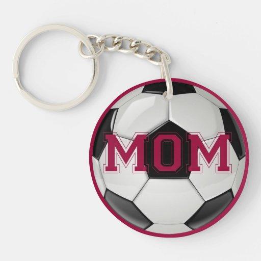 Soccer Mom Custom Colors Acrylic Key Chain