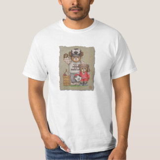 Soccer Mom & Kid Bears T Shirt