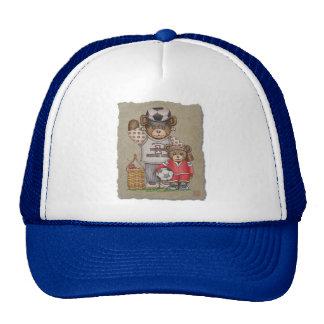 Soccer Mom & Kid Bears Trucker Hat