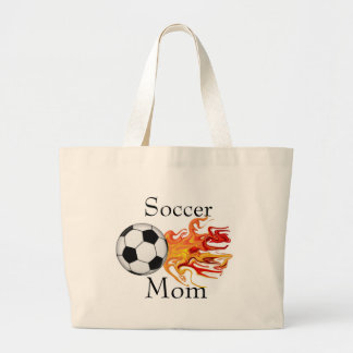Soccer Mom Large Tote Bag