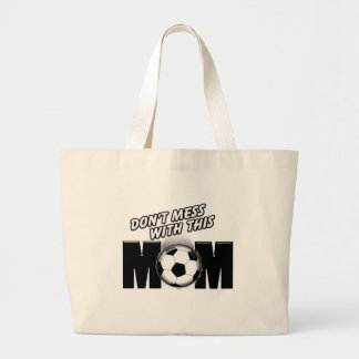Soccer Mom Large Tote Bag