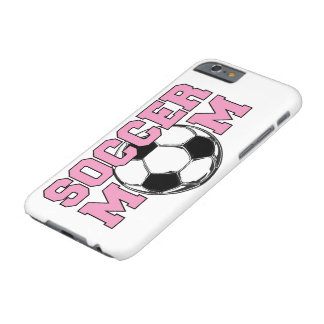 SOCCER Mom - Pink Title Barely There iPhone 6 Case