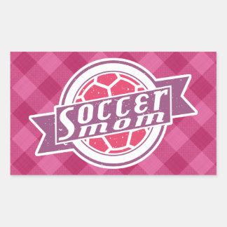 Soccer Mom Rectangular Sticker