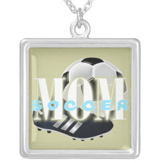 Soccer Mom Square Necklace