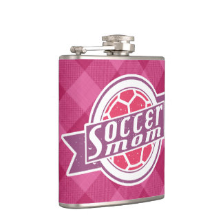 Soccer Mom Stainless Steel Hip Flask