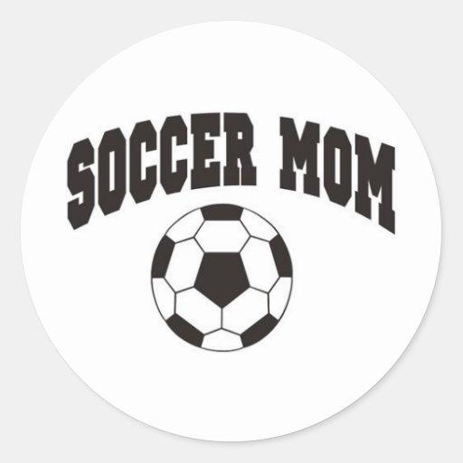 Soccer mom stickers