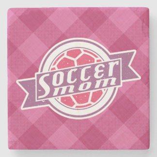 Soccer Mom Stone Coaster