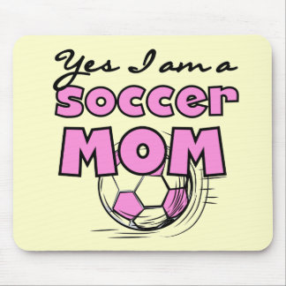 Soccer Mom  Tshirts and Gifts Mouse Pad
